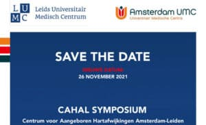 Nieuws Symposium 25 Jaar Cahal 26nov2021